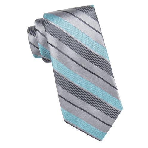Collection By Michael Strahan Cats Stripe Tie