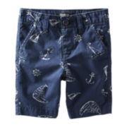 OshKosh B'gosh® Print Woven Shorts - Boys 2t-4t