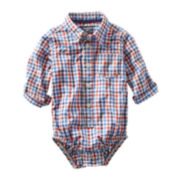 OshKosh B'gosh® Plaid Bodysuit - Boys 3m-24m
