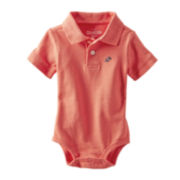 OshKosh B'gosh® Piqué Polo Bodysuit - Boys 3m-24m