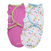 Summer Infant® 2-pk. SwaddleMe® - Pretty Petals
