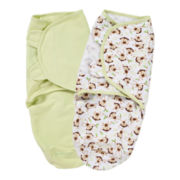 Summer Infant® 2-pk. SwaddleMe® - Monkey Toss