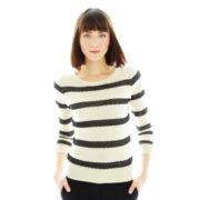 Joe Fresh™ Knit Striped Sweater