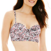 Ninety Six Degrees Sequin Midkini Swim Top