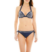 Ninety Six Degrees Sequin Halter Swim Top or Hipster Bottoms
