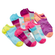 Total Girl® 6-pk. No-Show Athletic Socks - Girls