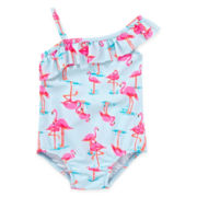 Carter's® Flamingo Swimsuit – Girls 3m-24m