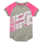 Nike® Dri-FIT Short-Sleeve Athletic Tee – Girls 4-6x