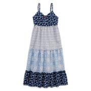 Arizona Sleeveless Tiered Gauze Dress – Girls 7-16