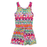 Arizona Sleeveless Lace Romper - Girls 7-16