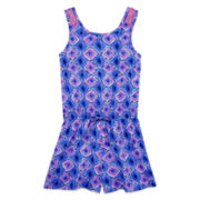 Arizona Sleeveless Lace Romper – Girls 7-16
