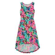 Total Girl® Sleeveless High-Low Dress – Girls 7-16