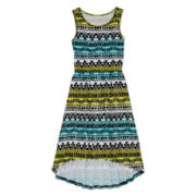 Total Girl® Sleeveless High-Low Dress – Girls 7-16