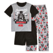 Star Wars 3-pc. Pajama Set - Boys 4-10