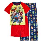 Avengers 3-pc. Pajama Set – Boys 4-12