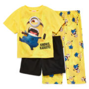 Despicable Me Minion 3-pc. Pajama Set - Boys 2t-4t