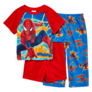 Spider-Man 3-pc. Pajama Set – Boys 2t-4t