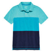 Arizona Short-Sleeve Colorblock Polo – Boys 8-20