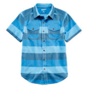Arizona Short-Sleeve Woven Shirt – Boys 8-20 and Husky