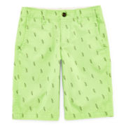 Arizona Lightning Bolt Print Shorts – Boys 8-20, Slim and Husky