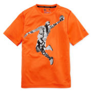 Xersion™ Short-Sleeve Poly Graphic Tee – Boys 8-20