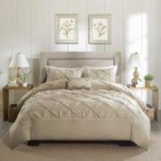 Madison Park Tess 4-pc. Cotton Percale Duvet Set