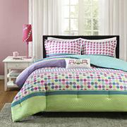 Mizone Jenny Polka Dot Comforter Set