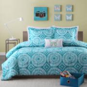 Mizone Melanie Tie-Dyed Comforter Set