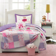 Mi Zone Kids Dancing Duchess Quilt Set