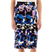 Worthington® Long Print Pencil Skirt