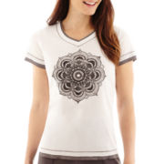Made For Life™ Short-Sleeve Layered Medallion T-Shirt