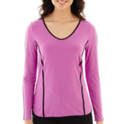 Worthington® Long-Sleeve Piped Top