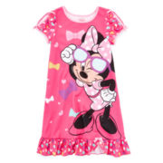Disney Collection Minnie Mouse Nightshirt – Girls 2-10