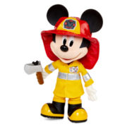 Disney Collection Talking Mickey Mouse Fire Rescue Doll