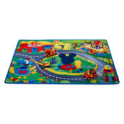 Disney Collection Mickey and Goofy Playmat and Cars