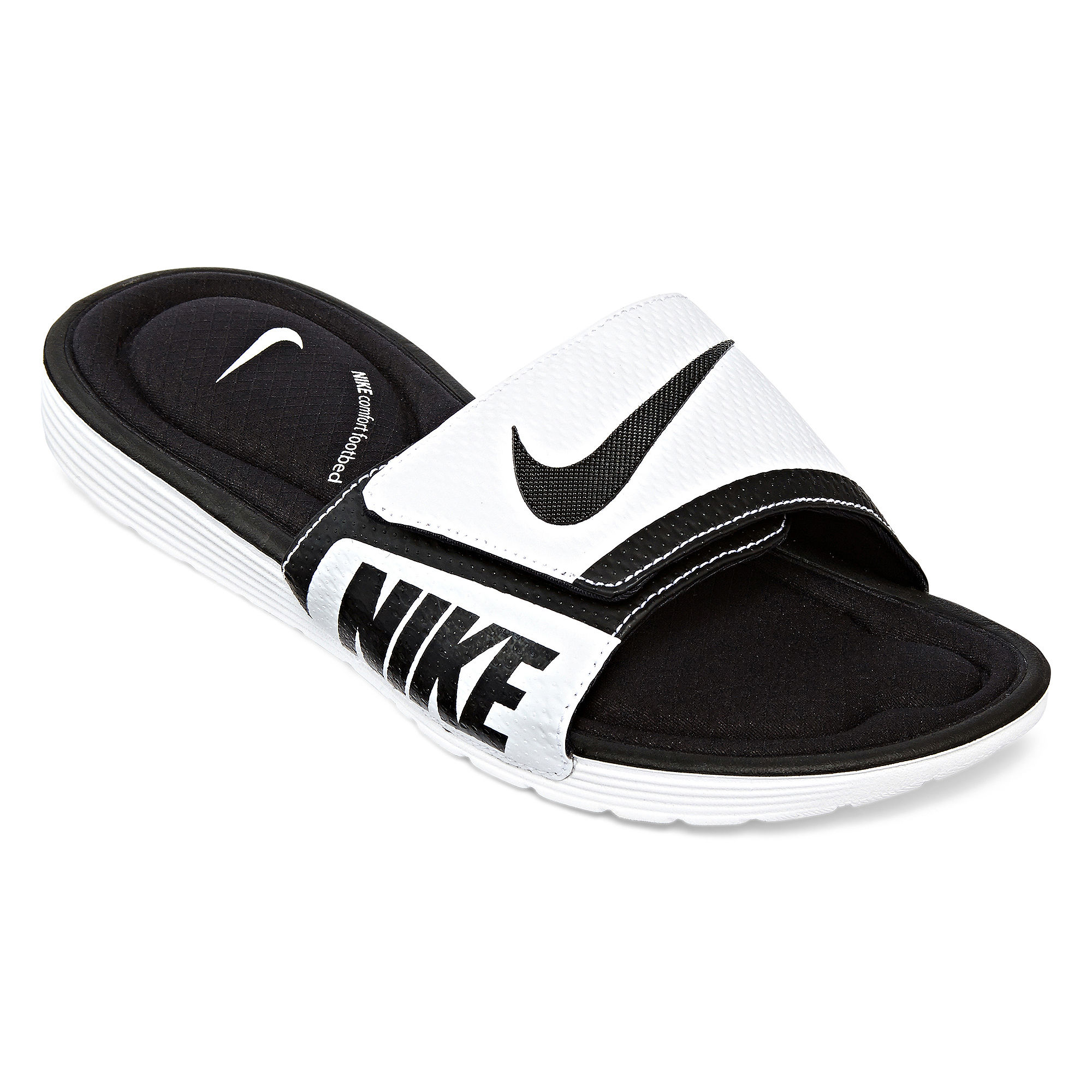 c95898124a7277 ... UPC 888408314901 product image for Nike Solarsoft Mens Comfort Slide  Sandals