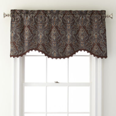 jcpenney.com | Royal Velvet® Manchester Rod-Pocket M Valance