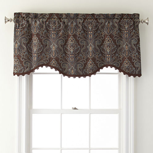 Royal Velvet® Manchester Rod-Pocket M Valance