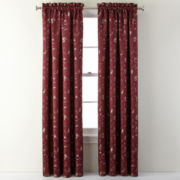 Royal Velvet® Sloane Rod-Pocket Curtain Panel