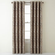 Royal Velvet® Blaine Grommet-Top Blackout Curtain Panel