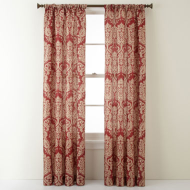 jcpenney.com | Royal Velvet® Camden Rod-Pocket Curtain Panel