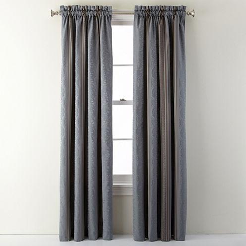 Royal Velvet® Carissa Rod-Pocket Curtain Panel