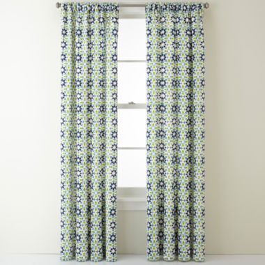 jcpenney.com | JCPenney Home™ Camarillo Rod-Pocket/Back-Tab Curtain Panel