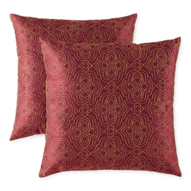 jcpenney.com | JCPenney Home™ Battista 2-Pack Decorative Pillows