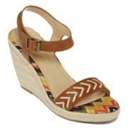 CL by Laundry Peru Wedge Sandals