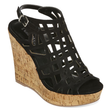 jcpenney.com | Style Charles Antwerp Cork Wedge Sandals