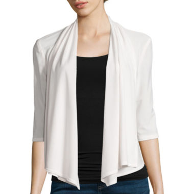 jcpenney.com | R&M Richards Drape Front Shrug