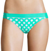 Arizona Circle Of Life Scrunch Hipster Swim Bottom - Juniors