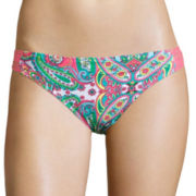 Arizona Festival Spice Low-Rise Hipster Swim Bottom - Juniors