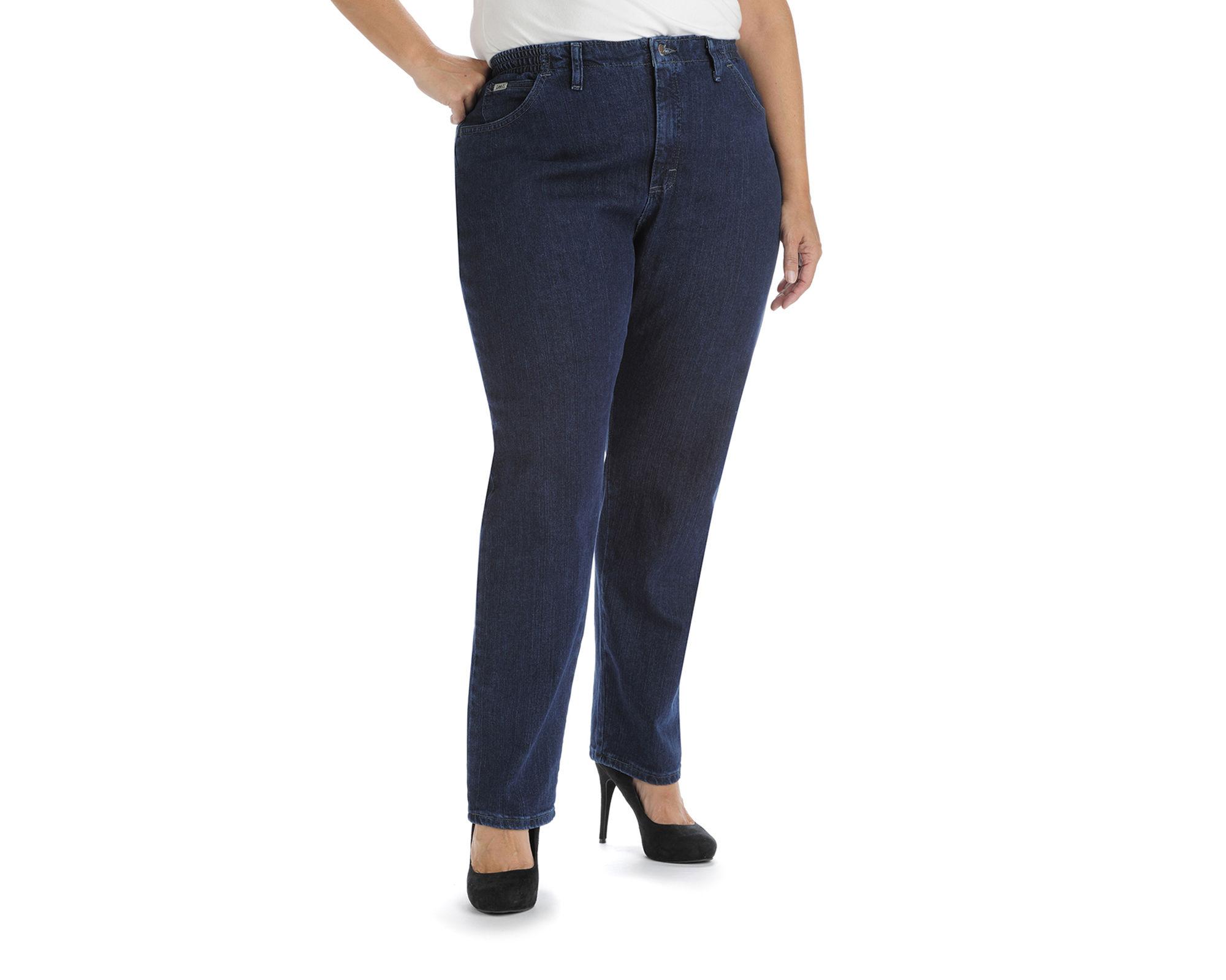Lee Side-Elastic Jeans - Plus